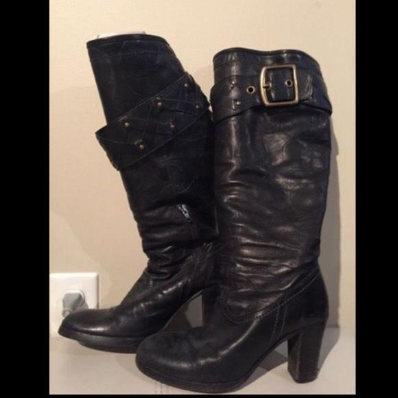 Coach Shoes - Coach Leathet boots